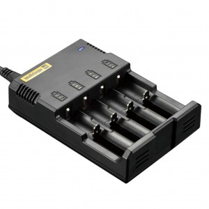 Nitecore i4 Batterycharger 4-channel