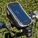 Handlebar bag for phone and accessories