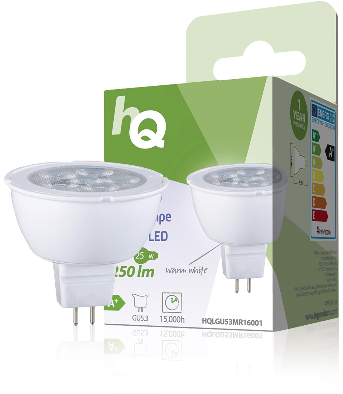 LED-lamp MR16 GU5.3 4W 250 lm 2700 K